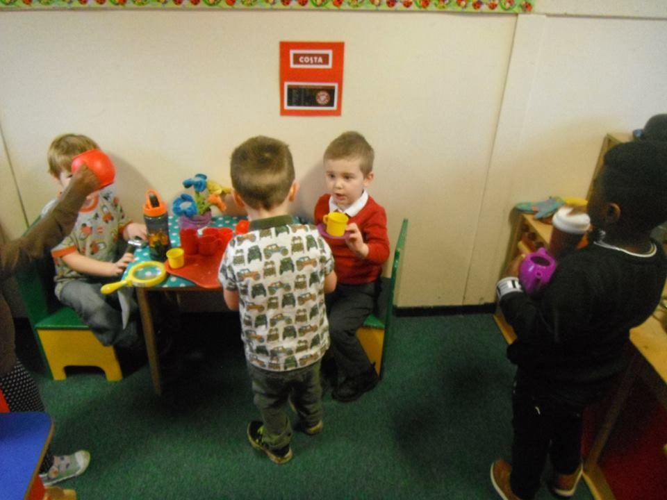 Children open their very own cafe!