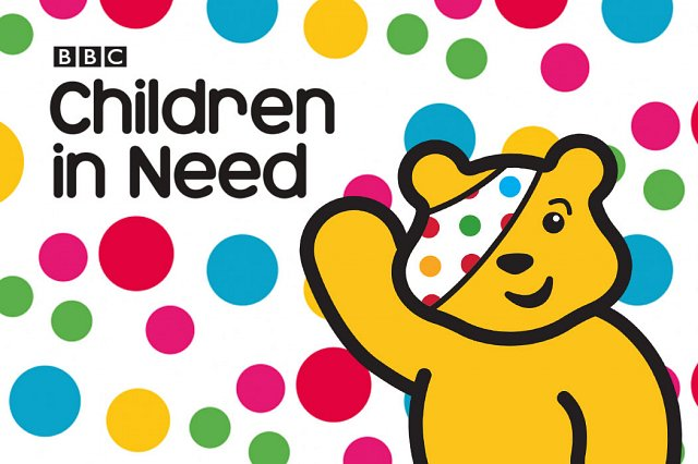 Spotacular outfits for Children in Need