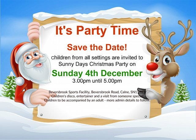 Join us for our Christmas Party!